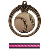 "Hasty Awards 2.5"" Eclipse Baseball Medals"