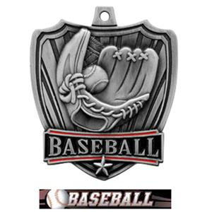 SILVER MEDAL / ULTIMATE BASEBALL RIBBON