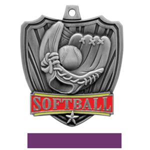 SILVER MEDAL / PURPLE RIBBON