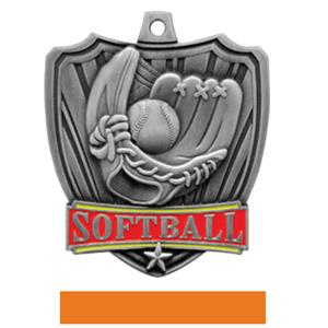SILVER MEDAL / ORANGE RIBBON