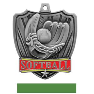 SILVER MEDAL / GREEN RIBBON