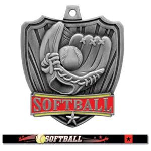 SILVER MEDAL / ULTIMATE SOFTBALL RIBBON