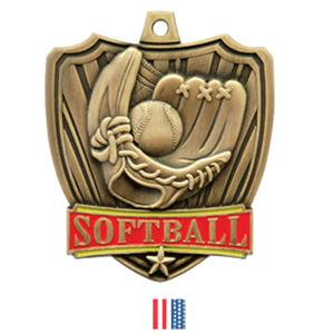 GOLD MEDAL / FLAG RIBBON