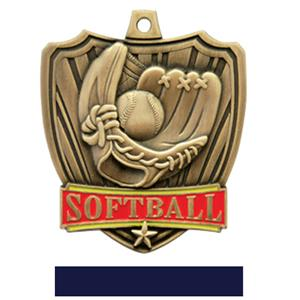 GOLD MEDAL / NAVY RIBBON