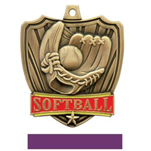 GOLD MEDAL / PURPLE RIBBON