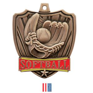 BRONZE MEDAL / FLAG RIBBON