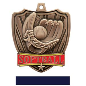 BRONZE MEDAL / NAVY RIBBON