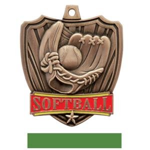 BRONZE MEDAL / GREEN RIBBON