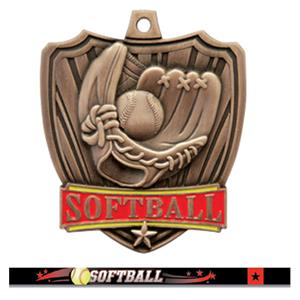 BRONZE MEDAL / ULTIMATE SOFTBALL RIBBON