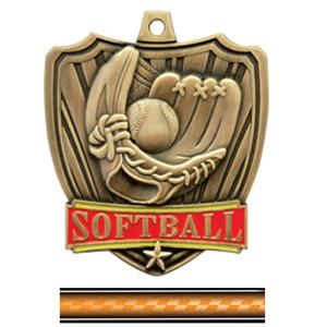 GOLD MEDAL/VICTORY ORANGE NECK RIBBON