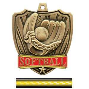 GOLD MEDAL/VICTORY YELLOW NECK RIBBON