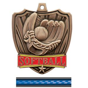 BRONZE MEDAL/VICTORY BLUE NECK RIBBON