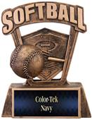 "Hasty Awards ProSport 6"" Softball Resin Trophies"
