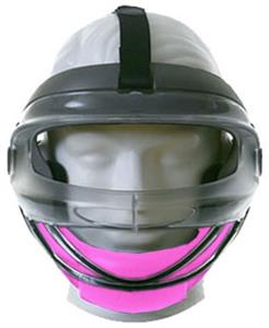 PINK CHIN CUP - CLEAR MASK