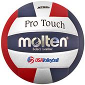 Molten NFHS Red/White/Blue Pro Touch Volleyballs
