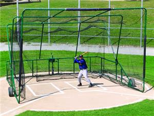 GREEN - LINE DRIVE BATTING CAGE