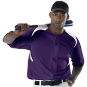 Alleson 527 Adult Full Button Baseball Jerseys CO