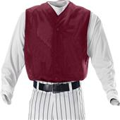 Alleson Full Button Mesh Baseball Vests-Closeout