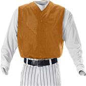 Alleson Youth Full Button Baseball Vests-Closeout