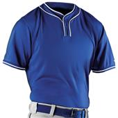 Alleson Adult Microfiber 2 Button Baseball Jerseys