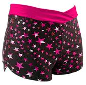Pizzazz Cheerleaders Superstar Crossover Shorts