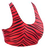 Pizzazz Cheerleaders Animal Print Sports Bras