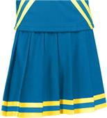 Teamwork Extreme Pleated Cheer Skirt w/3 Stripes