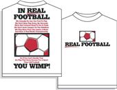 Utopia Soccer Real Football Tshirt