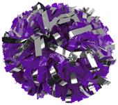 Getz Cheerleaders Flash Plastic Metallic Poms