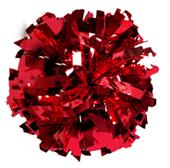 Getz Youth Cheerleaders Metallic Poms SW11M