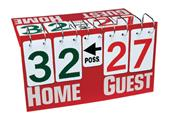 Getz deluxe all sports tabletop scoreboards