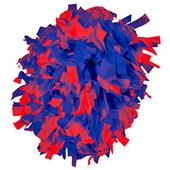 Alleson Two Color Plastic Cheerleaders Poms