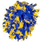 Alleson Two Color Plastic Cheerleaders Poms