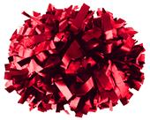 Alleson Metallic Convertible Cheerleaders Poms