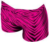 JB Bloomers Zebra Print Bootie Shorts
