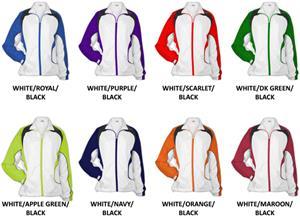 526 WHITE/DK. GREEN/BLACK