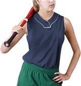 Intensity Womens Cool Mock Softball Jerseys
