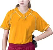 Intensity Womens Cool Mock Softball Jerseys