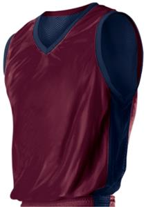 Outside: MAROON, Inside: NAVY