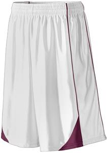 WHITE/ MAROON