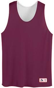 Outside: MAROON, Inside: WHITE