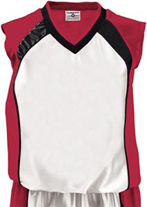 24-WHITE/SCARLET/BLACK