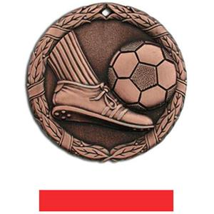 BRONZE MEDAL/RED RIBBON