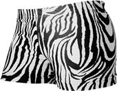Gem Gear Compression Zebra Prints Cheer Shorts