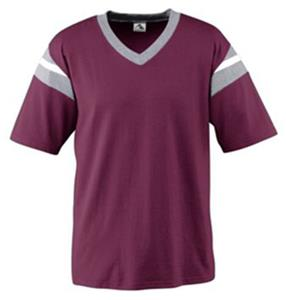 MAROON/ATHLETIC HEATHER/ WHITE