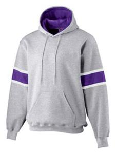 ATHLETIC HEATHER/ PURPLE/ WHITE