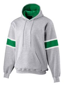 ATHLETIC HEATHER/ KELLY GREEN/ WHITE