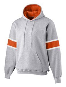 ATHLETIC HEATHER/ ORANGE/ WHITE