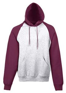 ATHLETIC HEATHER/ MAROON