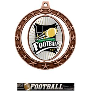 BRONZE MEDAL / ULTIMATE FOOTBALL RIBBON